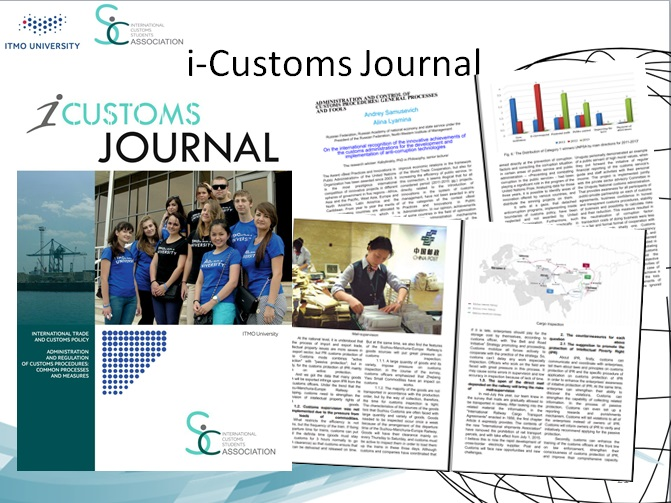 "The list of student research recommended the International Expert Committee for publication in ""i-Customs Journal"""
